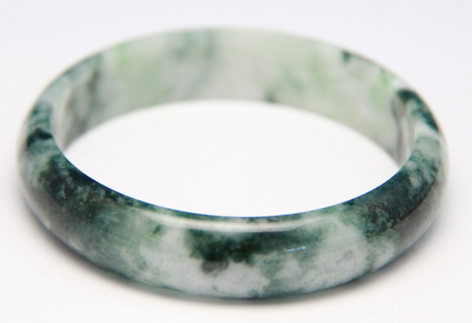 com dp a green round bracelet hetian grade jade ac genuine bangle nephrite natural bangles amazon home jadeite