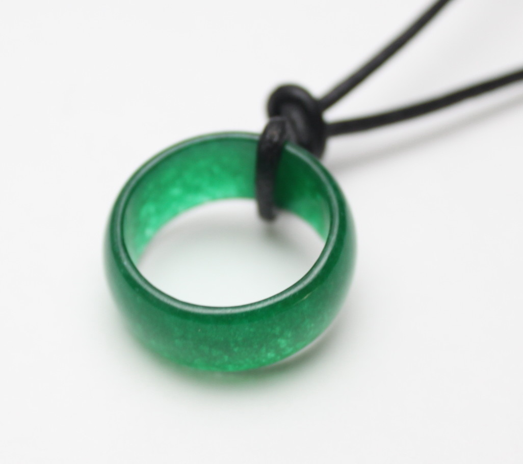 ring leather green necklace imperial chinese on store jade